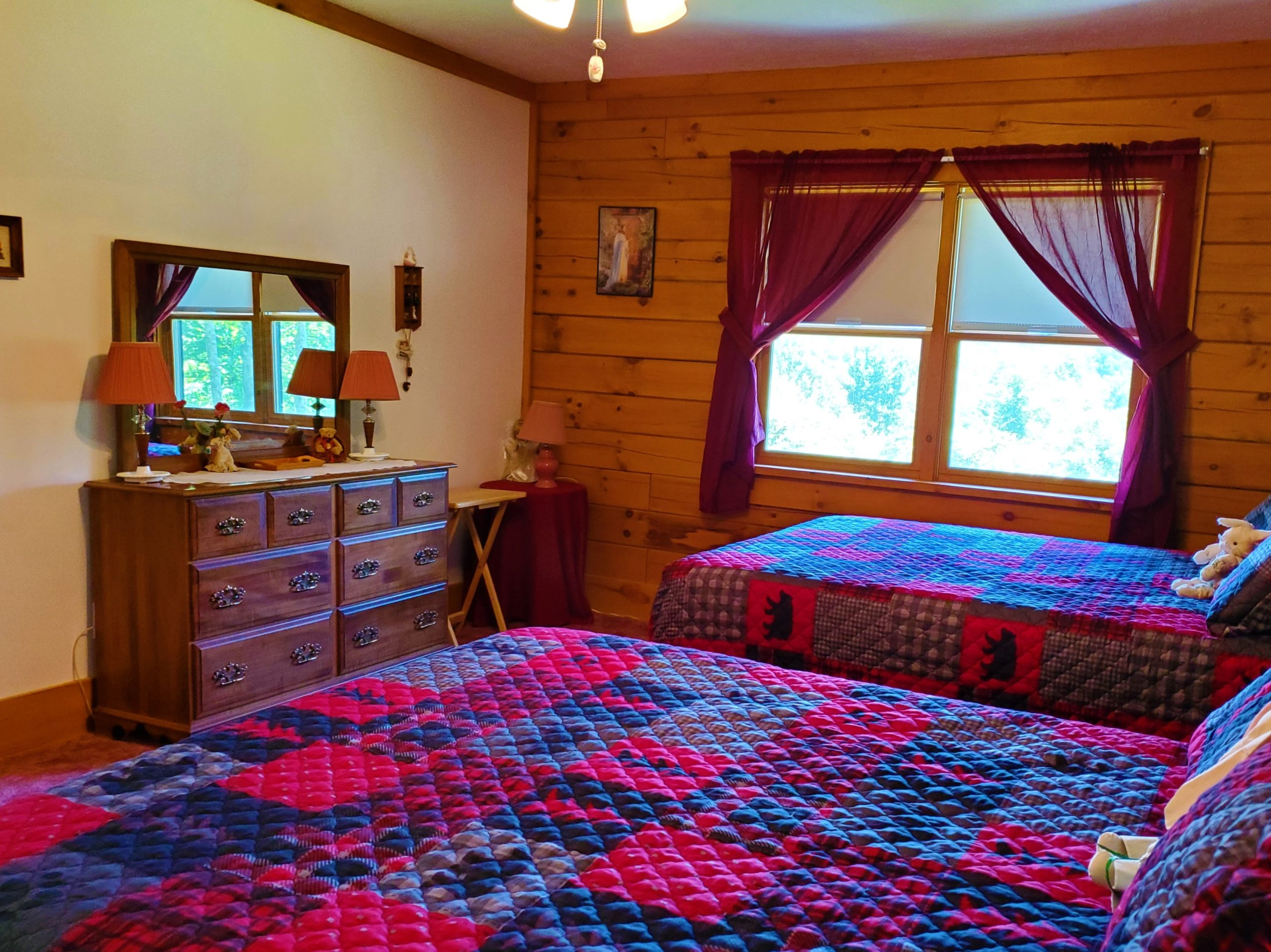 Cabin 5 Bedroom 1 2