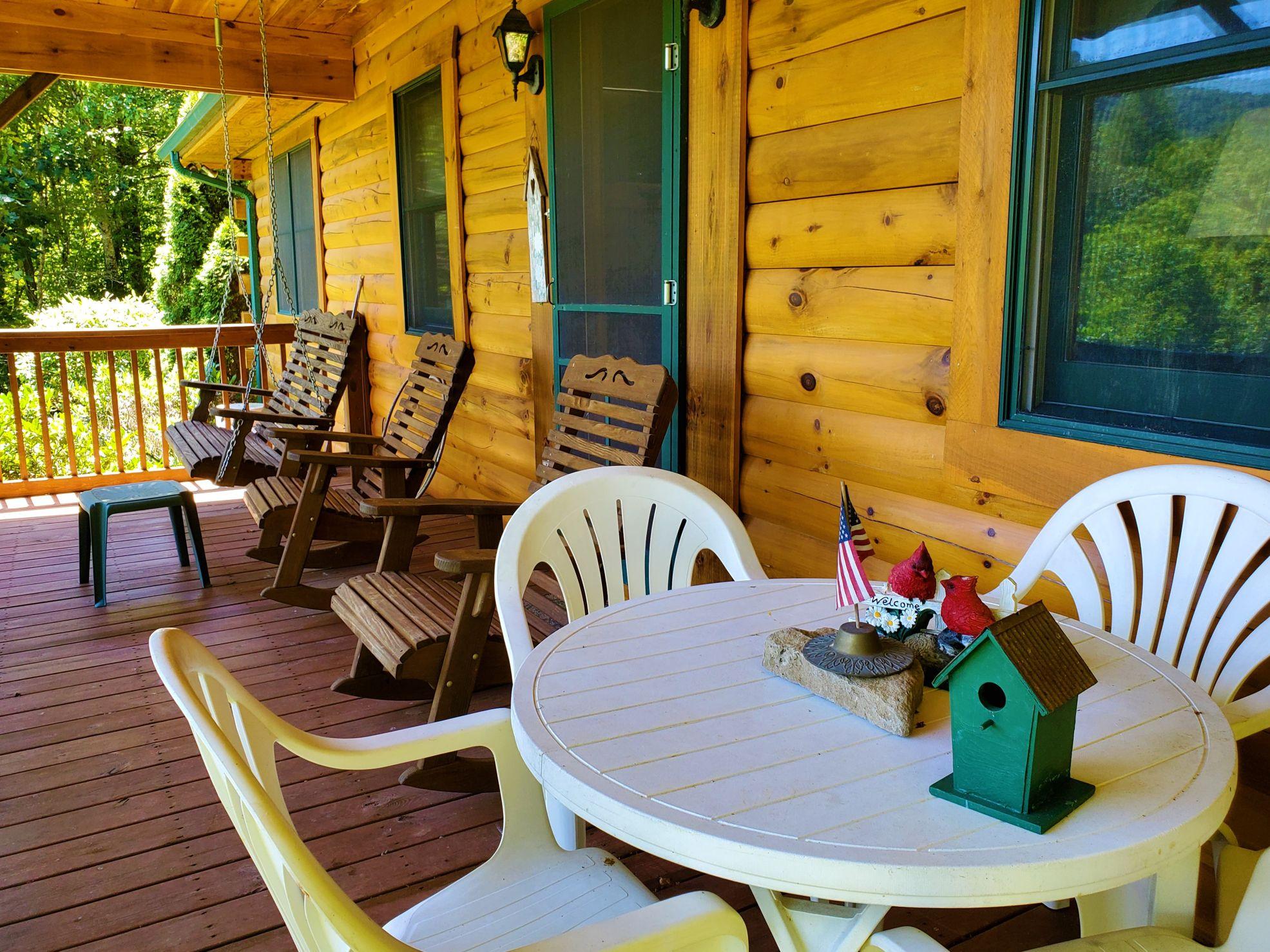 Cabin 5 Porch 2